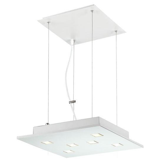 Alcon Lighting 12154 Cuadra 6-Light LED Architectural Suspended Pendant
