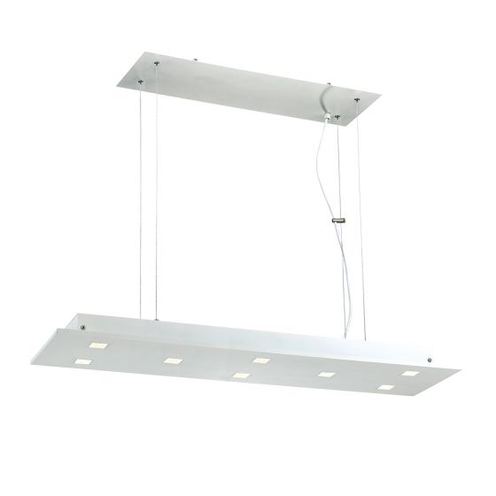 Alcon Lighting 12155 Cuadra 8-Light LED Architectural Suspended Pendant