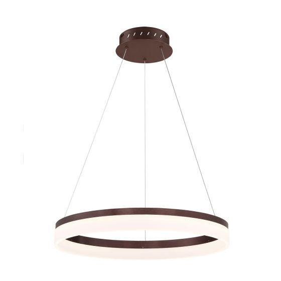 Alcon Lighting 12241 Bandini Small 15.75 Inches Architectural LED Suspended Pendant Chandelier