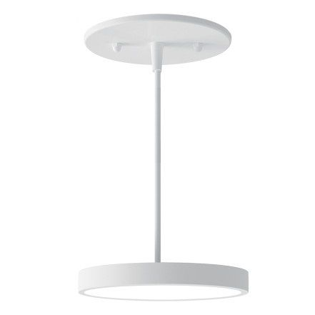 Alcon Lighting 12182-5 Disk Architectural LED 5 Inch Round Pendant Mount Direct Down Light Fixture