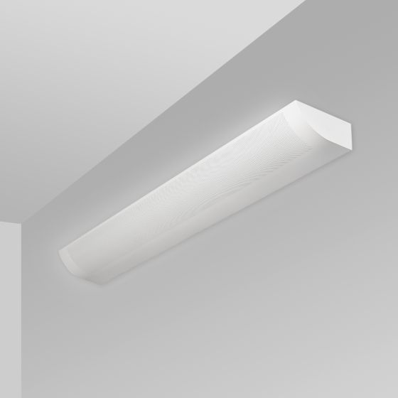 Alcon Lighting 6021 Fluorescent Indoor Modern Architectural Wall Mount Light Fixture - Direct/Indirect Damp Rated