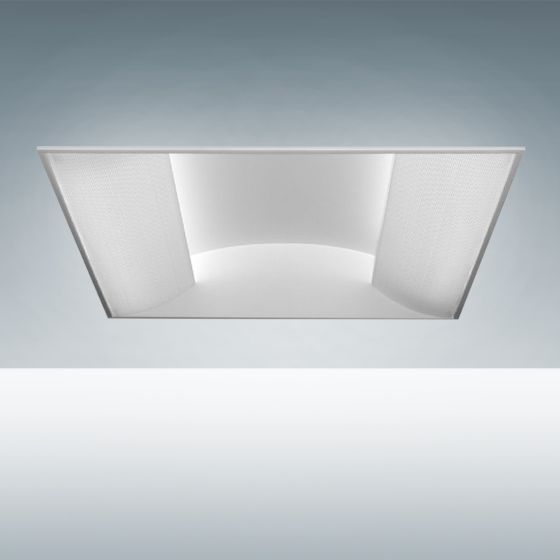 Alcon Lighting 7018 Side Basket Fluorescent Recessed Troffer Direct Light Fixture