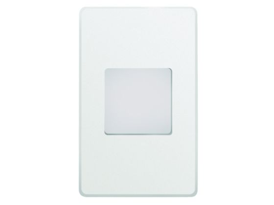Alcon Lighting 9049 Ara LED Architectural Vertical Translucent Open Lens Recessed Pathway/Step Light