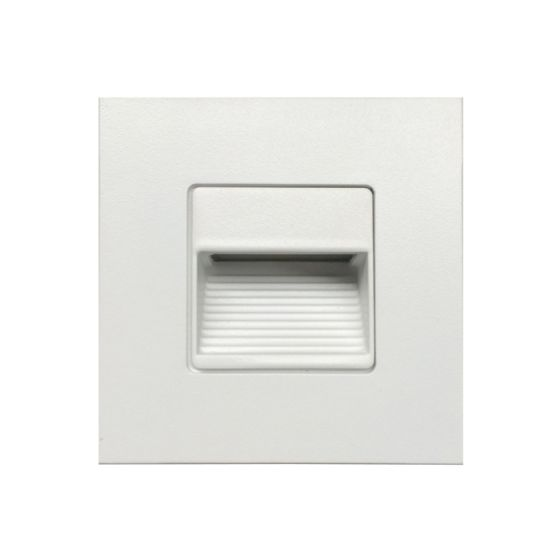 Alcon Lighting 9054 Ara LED Architectural Square Baffle Louver Recessed Pathway/Step Light