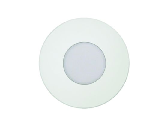 Alcon Lighting 9055 Ara LED Architectural Round Translucent Open Lens Recessed Pathway/Step Light