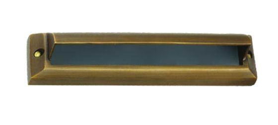 Alcon Lighting 9203-F Acropolis Architectural LED Low Voltage Step Light Flush Mount Fixture