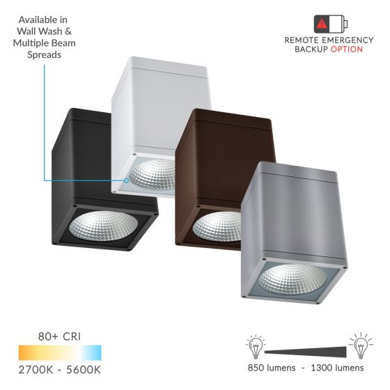 Alcon 11223-DIR LED Square Ceiling Light