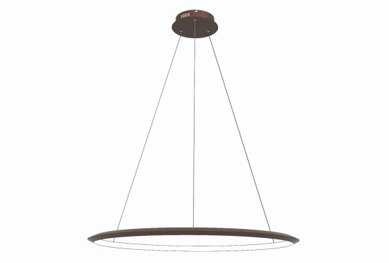 Alcon Lighting 12279-1 Redondo Suspended Architectural LED 1 Tier Ring Direct Indirect Chandelier Light