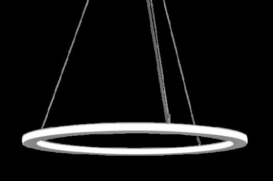 Alcon Lighting 12280 Circline Architectural LED Circular Pendant Mount Light Fixture