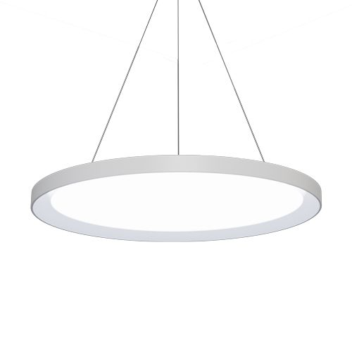 Alcon Lighting 12290 Disk Architectural LED Direct/Indirect Round Suspension Light
