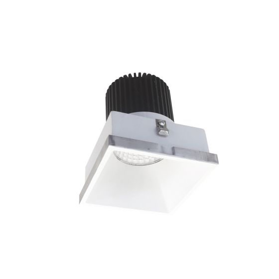 Alcon Lighting 14074-SF Illusione 4 Inch Square Architectural LED Trimless Flush Mount Recessed Light Fixture