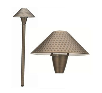 Alcon Lighting 9069 Golf Solid Brass Low Voltage LED Architectural Landscape Path Light Fixture