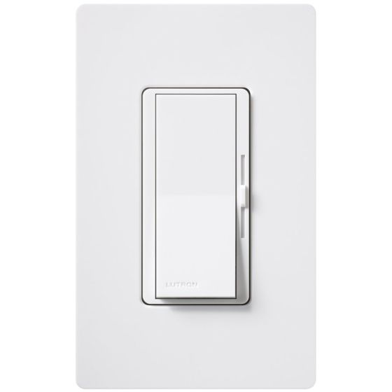 Lutron Diva DVLV-600P -WH Single-Pole Preset Dimmer