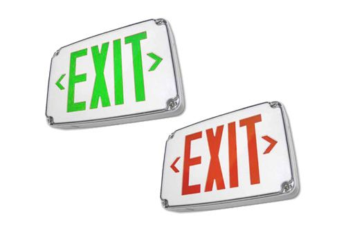 Alcon Lighting 16113 Compact Wet Location LED Exit Sign