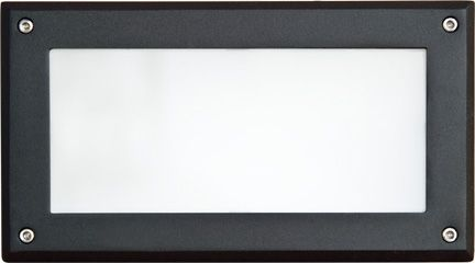 Alcon Lighting 9603 Savoye Architectural LED Low Voltage Step Light Recessed Wall Mount Fixture