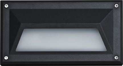Alcon Lighting 9608 Luxor Architectural LED Low Voltage Step Light Recessed Wall Mount Fixture