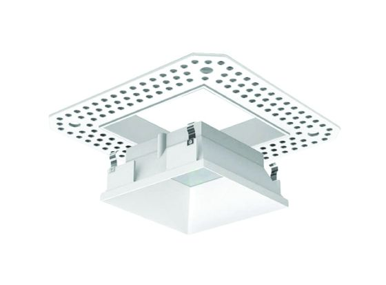 Alcon Lighting 14006 Illusione 3 Inch Architectural LED Square Trimless Recessed Down Light Fixture