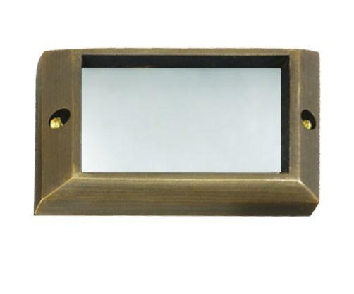 Alcon Lighting 9204-F Kern Architectural LED Low Voltage Step Light Flush Mount Fixture