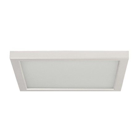 Alcon Lighting 11171-12 Disk Architectural LED 12 Inch Square Surface Mount Direct Down Light