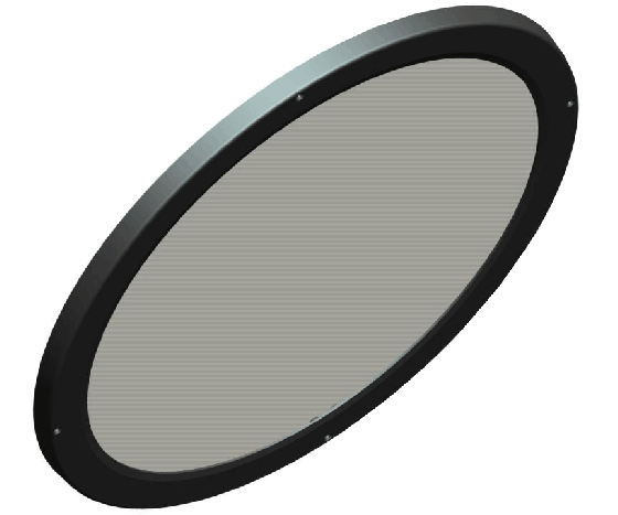 RAB LFBAYLED78W Lens and Doorframe for BAYLED / AISLED Luminaires