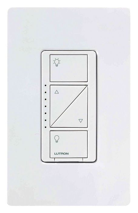 Lutron Caseta Wireless PD-6WCL-WH LED/CFL Lighting Dimmer White