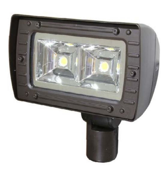 MaxLite AFC80U641KLBSS 76 Watt Architectural Outdoor LED Flood Light Fixture