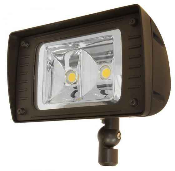 MaxLite AFB50U641KSBSS 49 Watt Architectural Outdoor LED Flood Light Fixture