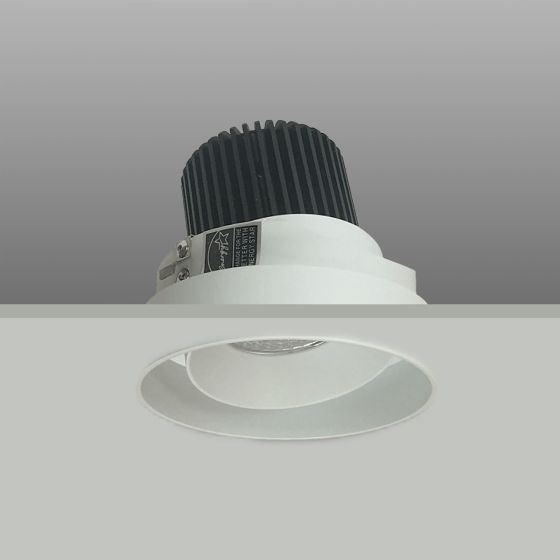 Alcon Lighting 14074-RA Illusione 4 Inch Round Adjustable Architectural LED Trimless Flush Mount Recessed Light Fixture