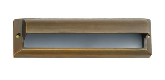 Alcon Lighting 9507-F Pacey Architectural LED Low Voltage Step Light Flush Mount Fixture