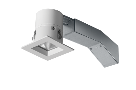 RAB 2 Inch Square Remodel LED Recessed Light RDLED2S8