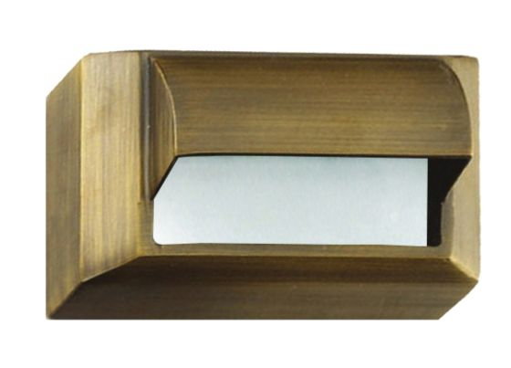 Alcon Lighting 9406-S Rubin Architectural LED Low Voltage Step Light Surface Mount Fixture