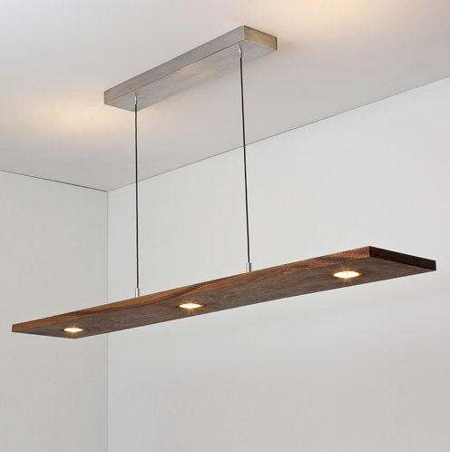 Cerno Vix 07-130 / 07-140 5 Light Direct/Indirect LED Linear Pendant Light
