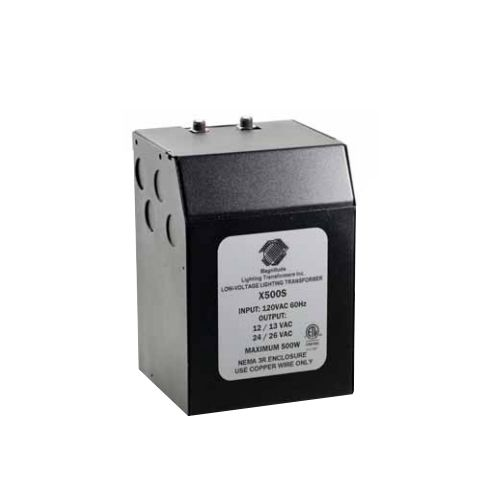 Magnitude 500 Watt 12/24Volt AC Indoor Transformer M500S
