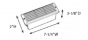 Image 2 of Alcon Lighting 9409-F Castel Architectural LED Low Voltage Step Light Flush Mount Fixture