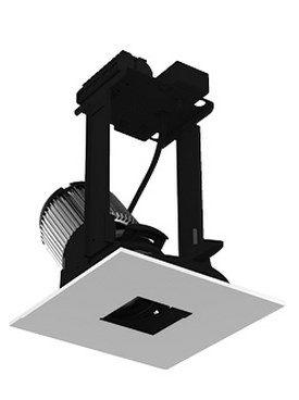 Image 1 of Intense Lighting IL-INTL-ATR STRINTLA306 Adjustable Reflector LED Downlight Square Light + Trim + Housing