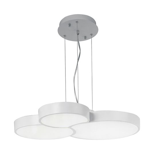 ET2 Cells LED 27 Inch 3 Light Round Pendant