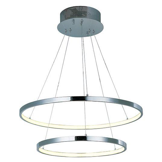 ET2 Hoops LED 2 Ring Pendant