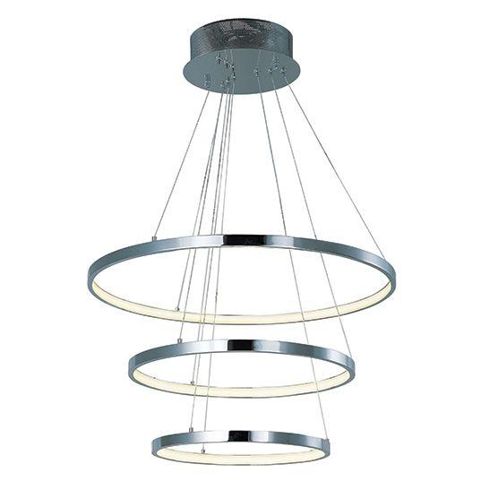 ET2 Hoops LED 3 Ring Pendant