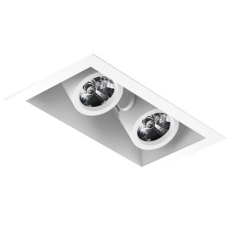 Image 1 of Intense Lighting MXRTR2 MX Double LED Recessed Lighting Multiple - 2 Light + Housing + Trim