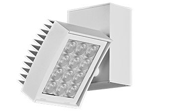 Image 1 of Amerlux CNTRV34 Contour 3x4 Vertical LED Track Light Fixture 24 Watt