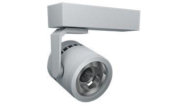 Image 1 of Amerlux C3MH Cylindrix® III Mini Horizontal C3MH 21W LED Track Light Fixture - Ideal for LED Gallery Lighting or Retail Track Lighting Applications