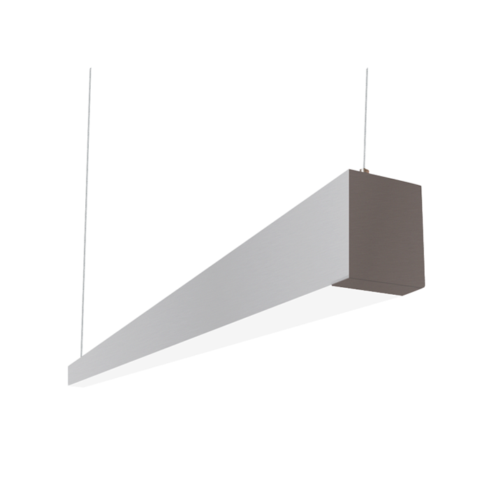 Alcon Lighting 12145 4 I253 Series Architectural Led Foot Linear Suspended Pendant Mount Direct Light Fixture
