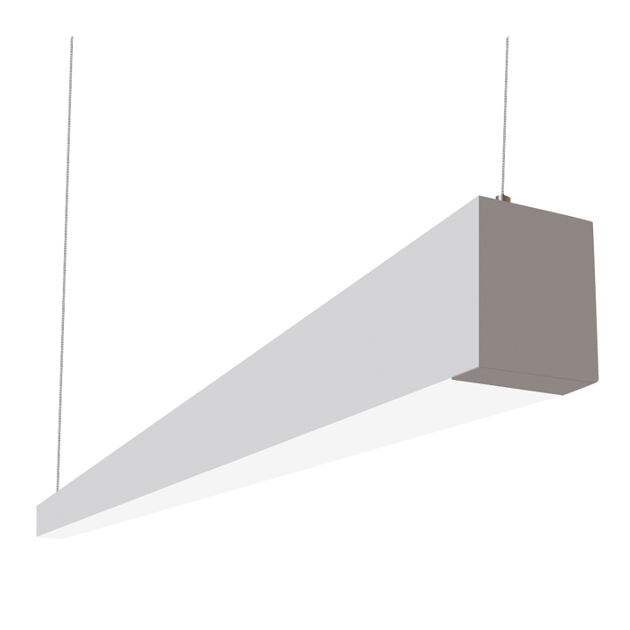 suspended lighting. Alcon Lighting 12145-8 I253 Series Architectural LED 8 Foot Linear Suspended Pendant Mount Direct Light Fixture M
