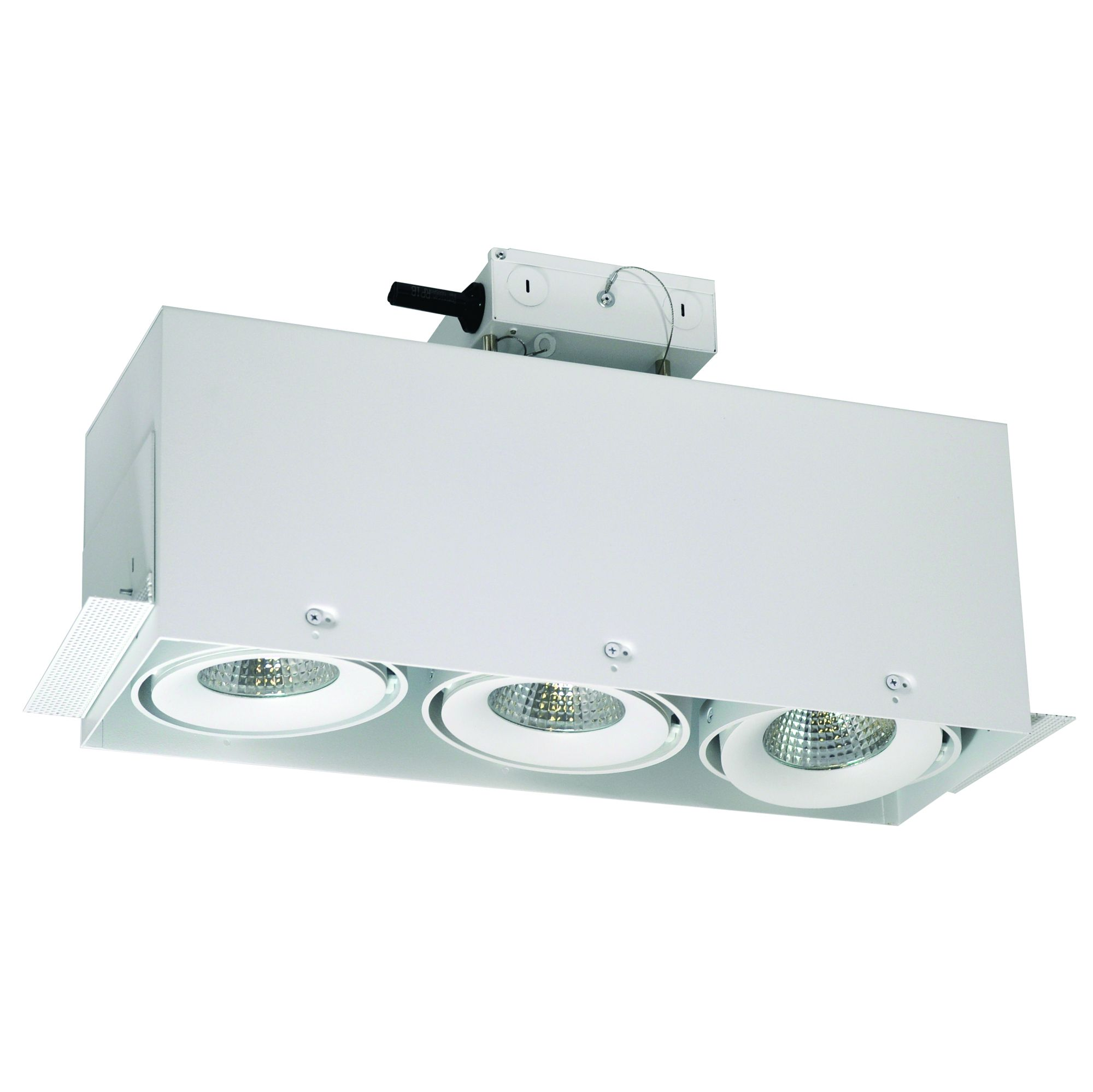 Alcon Lighting 14026 3 Adjule Trimless Multiple Led Dimmable Recessed Rectangular System