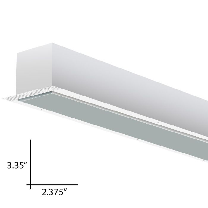 Alcon Lighting 14104 4 I253 Series Architectural Led 4 Foot Linear