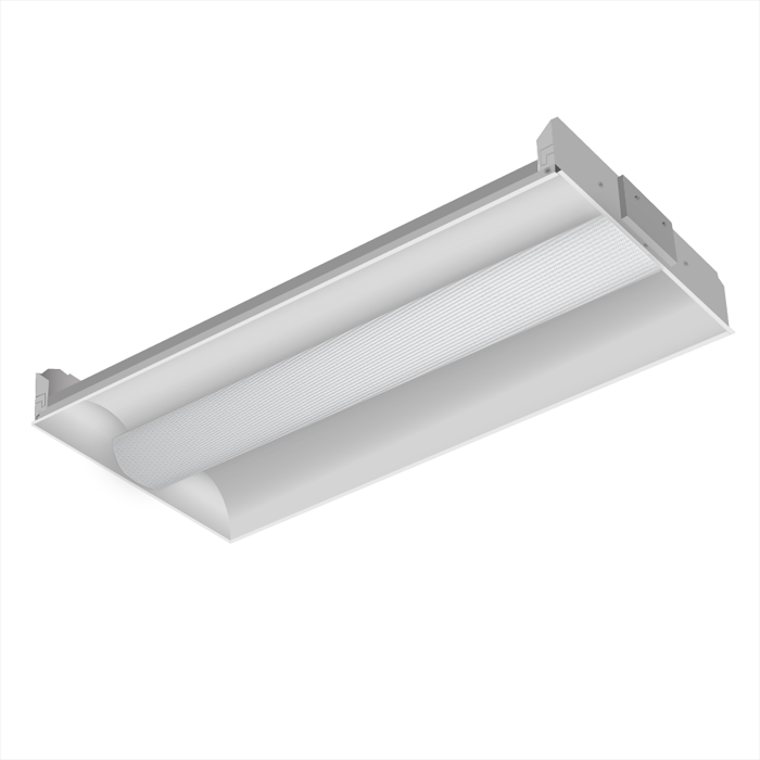 8cae6bbcddb Alcon Lighting 14000 Elite Architectural LED 1x4 Recessed Center Basket  Perforated Direct Light Troffer