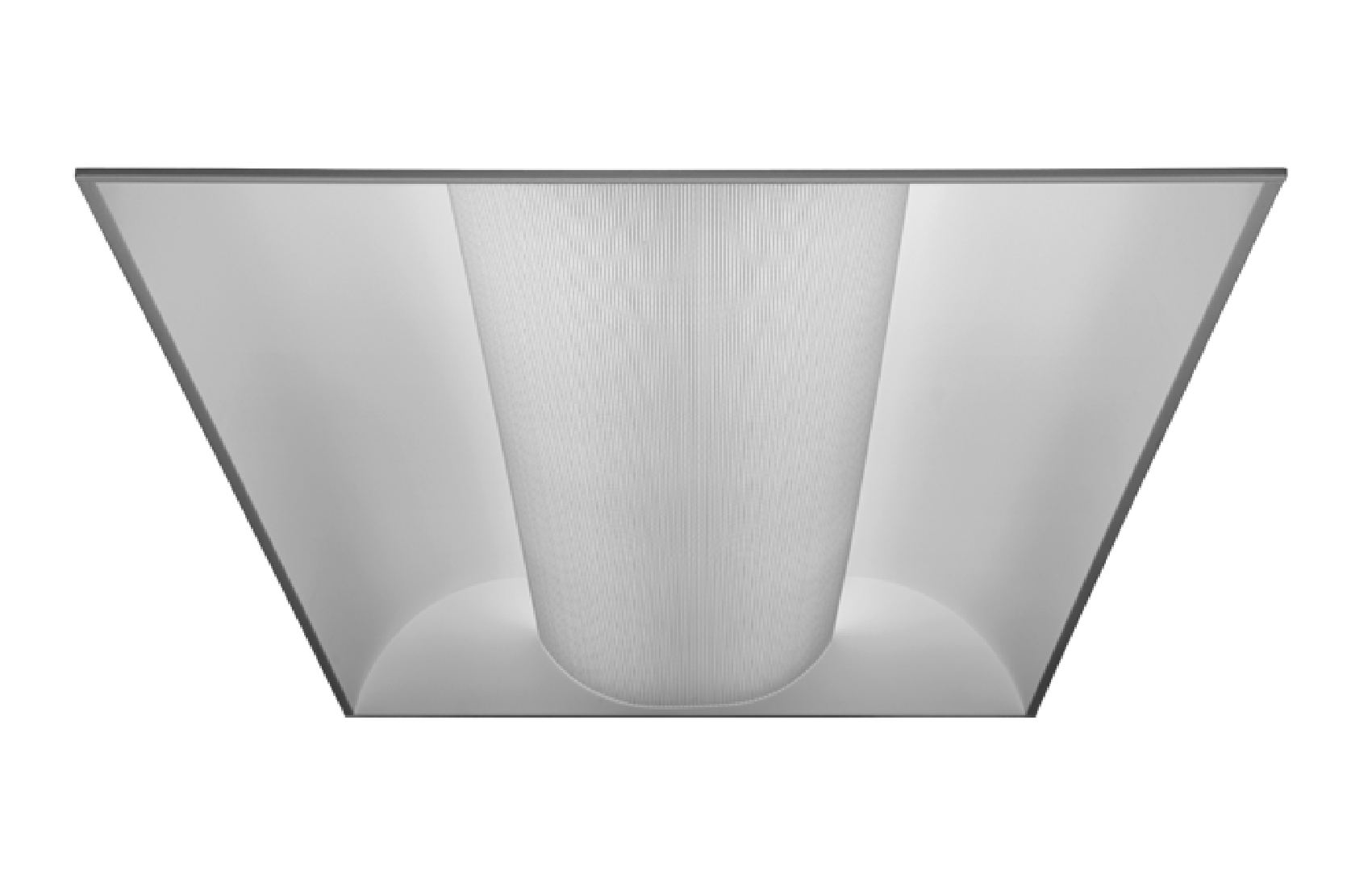 5dfa3f148f2 Alcon Lighting 14002 Elite Architectural LED 2x4 Recessed Center Basket  Perforated Direct Light Troffer. Double tap to zoom