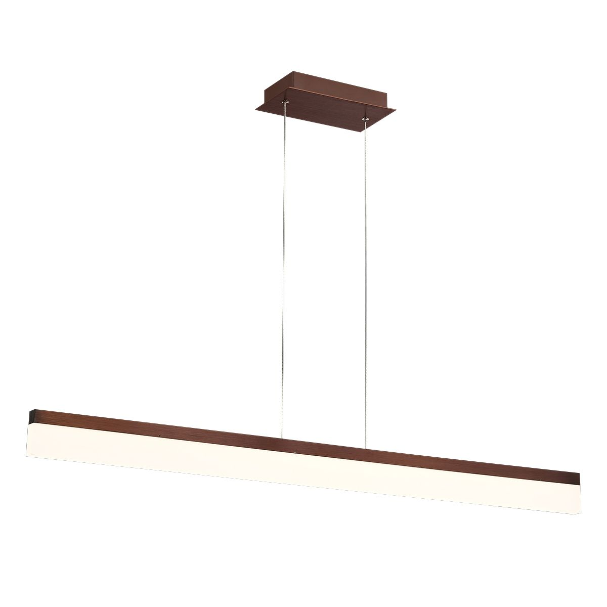 Alcon Lighting 12162 Br Barra Large 46 5 Inch Bronze Finish Led Architectural Linear Pendant