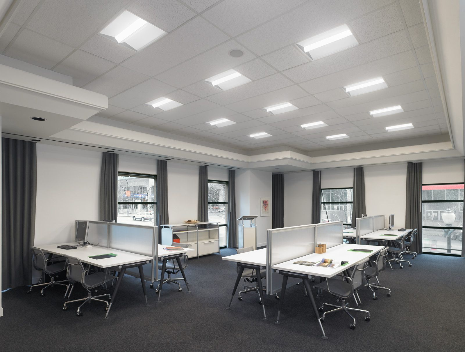 9a3195cd4f0 Alcon Lighting 14002 Elite Architectural LED 2x4 Recessed Center Basket  Perforated Direct Light Troffer
