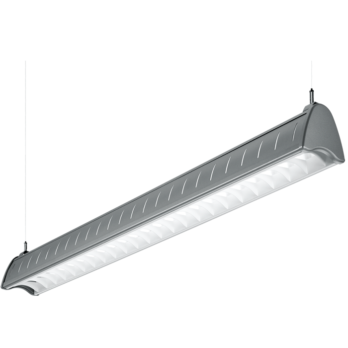 H E Williams Axa 4 Led Foot Architectural Linear Pendant Light Fixture White